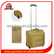 airport trolley suitcase and computer trolley bag