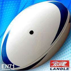 Machine stitched/hand sewn sports rugby ball
