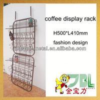 supermarket metal coffee pot stand