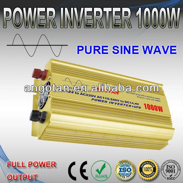 1000W Power Inverter/Pure Sine Wave Inverter