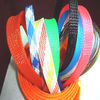 Multi-colored PET Cable Protection Sleeve Flexible Expandable Braided Cable Sleeving