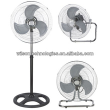 16 inch industrial 3in1 fan with strong powerful motor
