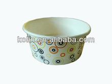 150cc custom printed paper bowl