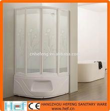 hef cabina doccia con vetro temperato stampato e sede