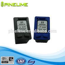 High Quality inkjet cartridge for HP 21 22 21xl 22xl inkjet cartridg