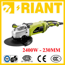 CE / GS / ROHS / UL Professional / DIY quality portable power tool 230mm electric angle grinder 2400W