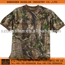 Safari clothes Bionic Camouflage cotton net t-shirts
