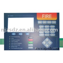 metal dome tactile membrane switch For the fire alarm equipment