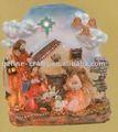 navidad del polyresin artesanías de la natividad