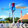 1kw/2kw/3kw/5kw de viento generador de turbina, pequeña turbina de viento para uso en el hogar con el ce de certificación( patente original pro)