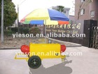 Mobile hot dog cart for sale/vending carts/mobile food car