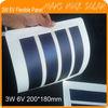 3W 6V 200*180mm Flexible Amorphous Silicon Solar Photovoltaic Module