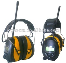 Electronic Hearing Protector with AM and FM Radio ear muff