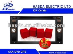 In-dash KIA Cerato Car DVD with Bluetooth/GPS