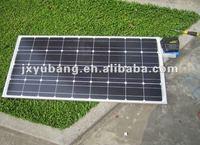 Cheap Grade A high efficiency Jiaxing Winbright CE YB125M36-80W mono crystalline solar pv panel photovoltaic panel
