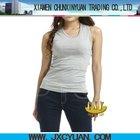 latest design dri fit 100% cotton blank women tank top wholesale sportswear china supplier