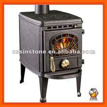 Cast iron modern wood heating stove STC08