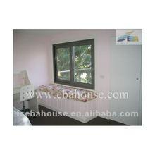 2 panels thermal break aluminum sliding windows sliding glass window aluminum profile sliding window