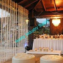 Crystal Bead Wedding Curtain Decoration