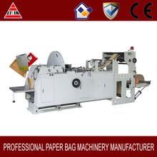 hot sales! sharp bottom kraft paper bag making machine exported in Turkey
