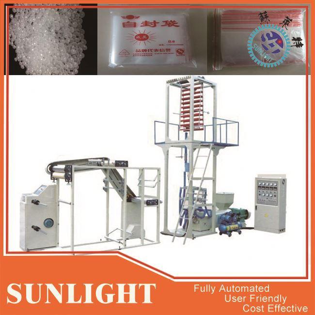 Plastic Film Flexographic Printing Machine