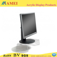 2013 hot clear acrylic monitor stand