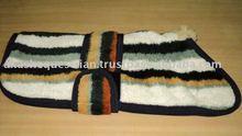 Soft fleece dog blanket