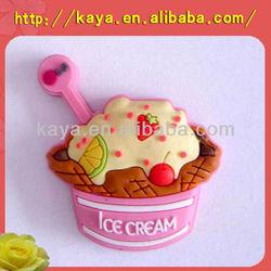 Promotional gifts custom 2D or 3D soft pvc fridge magnet