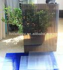 UV protected PC hollow sheet, Polycarbonate sheet , PC sun sheet