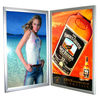 Snap open LED edge lit light box ultrathin led acrylic sheet led light photo frame