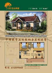 hot sale easy assembled houses for African market