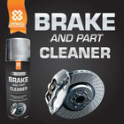 Car Care & Cleaning Product: BRAKE & PART CLEANER (Vehicle Brake Maintenance)