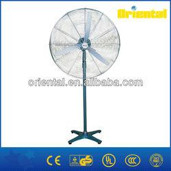 Powerful floor industrial umbrella fan outdoor