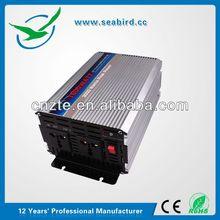 Seabird PI-1500 2000w power inverter voltage stabilizer, inversores de corriente w/ 110V AC/220V AC 2 outlet 3000w peak