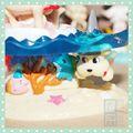 De plástico de pvc personajes de dibujos animados figura/de plástico mini figuras de anime/hacer que la costumbre de vinilo juguetes mini