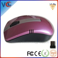 Colored 2.4G Wireless Optical 3D deals wireless mouse