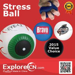 10 Years Production Custom Printed pu Stress Ball