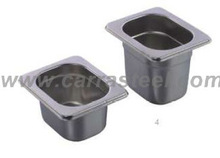 Stainless steel gastronorm food pan