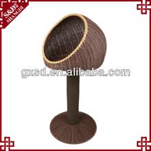S&D handicraft luxury plastic rattan dog products wholesale