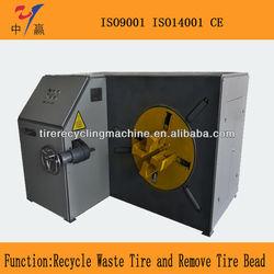 Scrap tire tire bead cutting machine for sale/Tire recycling machine/Waste tires tire bead separator
