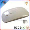 Vmw-30 cadeau personnalisé souris! Pour ipad sans fil souris 2.4 g optique avec couleur et boîte de couleur ou boîte de cristal pour emballage