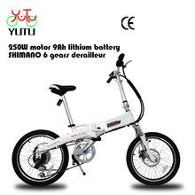 high quality pocket electric bike /stylish folding city ebike