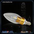 e14 3w luce vendita calda e27 dimmerabile ha portato la luce della lampadina lampadario