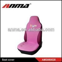 fashional women velvet car seat cover with logo