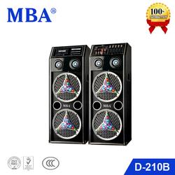 MBA Double 10 Inch Professional High Power Active KTV Karaoke Subwoofer Loud Speaker