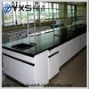 Laboratory reagent chemistry wood metal work bench