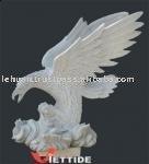 Stone Eagle Sculpture