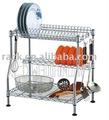 Patenteado cozinha metal rack placa/escorredor de pratos, fácil montar, aprovação nsf