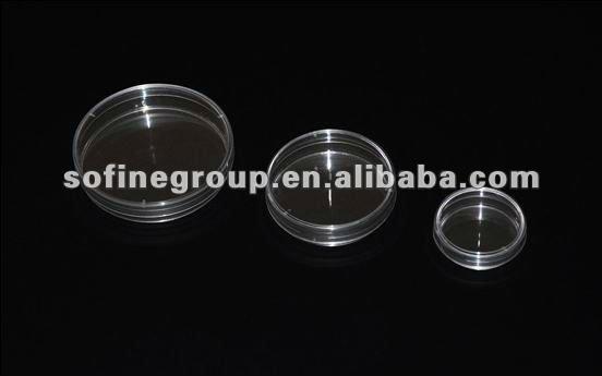 Placa de petri, el uso de laboratorio desechables placa de petri, de poliestireno placa/caja de petri