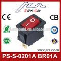 12 volt botón interruptor basculante iluminado 24 volt botón interruptor basculante